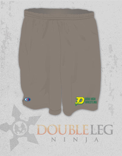 Dow High School - Cliff Keen MXS Loose Gear Shorts , Shorts - Double Leg Ninja, Double Leg Ninja
