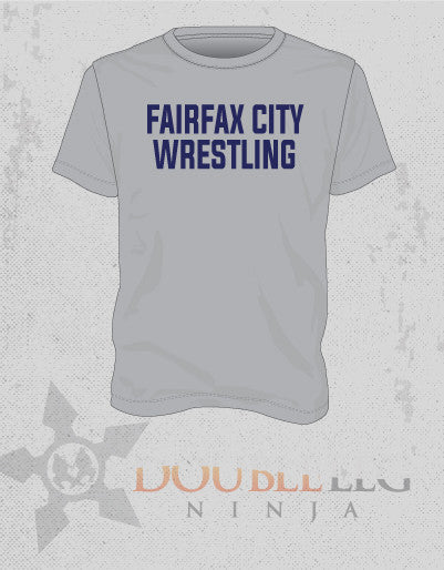 Fairfax Wrestling - Fundraising Fan T-Shirt 2