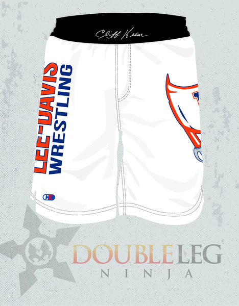 Lee-Davis Wrestling Board Shorts - Cliff Keen , Board Shorts - Double Leg Ninja, Double Leg Ninja - 1