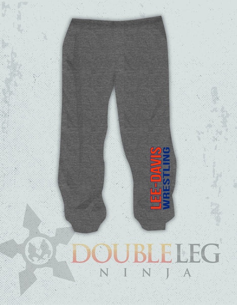 Lee-Davis Wrestling - Cliff Keen Extreme Fleece Sweatpants , Sweatpants - Double Leg Ninja, Double Leg Ninja - 1