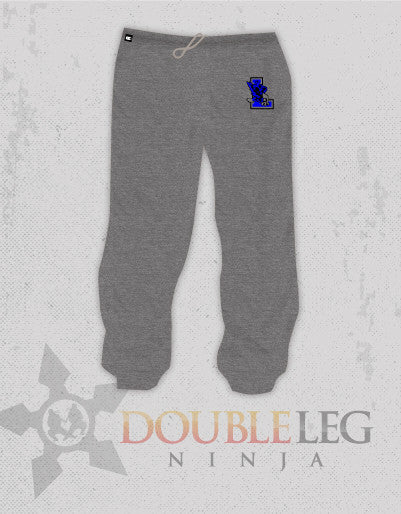Leonardtown Wrestling - Cliff Keen Extreme Fleece Sweatpants , Sweatpants - Double Leg Ninja, Double Leg Ninja - 1