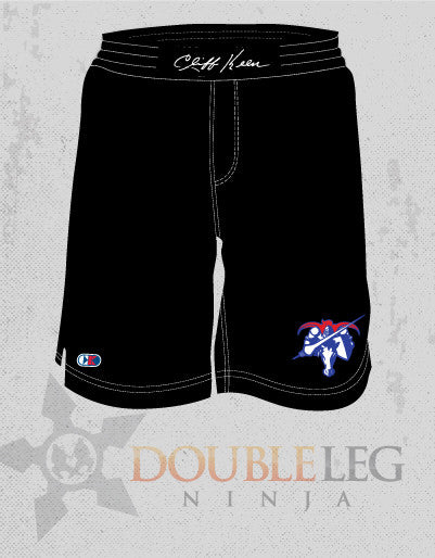 Londonderry Wrestling Board Shorts - Cliff Keen , Board Shorts - Double Leg Ninja, Double Leg Ninja