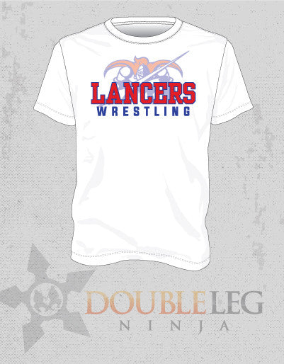 Londonderry Wrestling - Fundraising T-Shirt , Long Sleeve Shirt - Double Leg Ninja, Double Leg Ninja