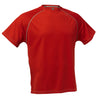 Cliff Keen Short Sleeve Loose Gear YS / Scarlet, Shirt - Cliff Keen, Double Leg Ninja - 5