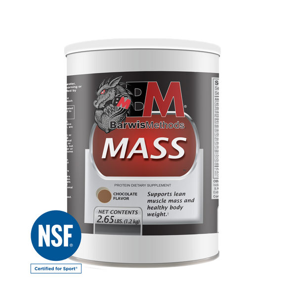 MASS , Nutrition - Barwis Methods, Double Leg Ninja - 1