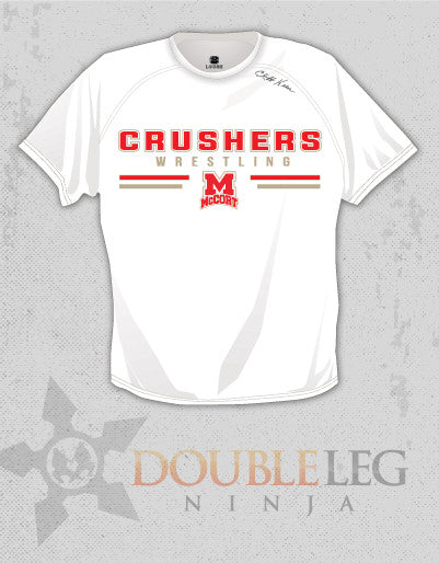 McCort Wrestling - Short Sleeve T-Shirt Cliff Keen MXS Loose Gear