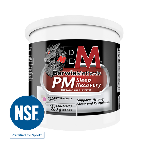 PM SLEEP RECOVERY , Nutrition - Barwis Methods, Double Leg Ninja
