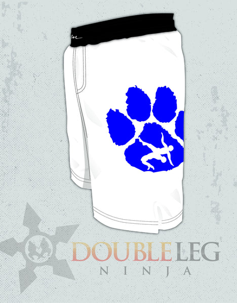 Princeton Wrestling Board Shorts - Cliff Keen , Board Shorts - Double Leg Ninja, Double Leg Ninja - 1