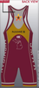 Mid Michigan Wrestling Club Fully Sublimated Singlet - Red , Singlet - Cliff Keen Wrestling Club, Double Leg Ninja - 2