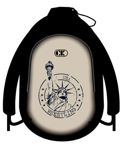 Cliff Keen Lady Liberty Backpack , CK Branded - Cliff Keen, Double Leg Ninja