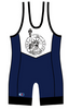 Cliff Keen Lady Liberty Singlet , CK Branded - Cliff Keen, Double Leg Ninja - 3