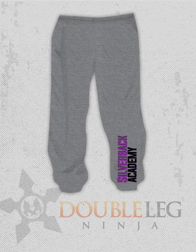 Silverback Academy - Cliff Keen Extreme Fleece Sweatpants , Sweatpants - Double Leg Ninja, Double Leg Ninja - 1