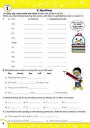 Grade 2 English Books Worksheet Image- Time For Better English