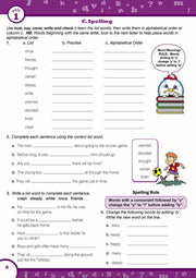 Grade 4 English Books Worksheet Image- Time For Better English