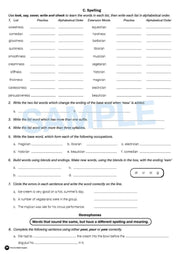 Grade 5 English Books Worksheet Image- Time For Better English