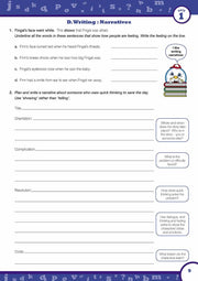 Year 5 English Books Worksheet Image- Time For Better English