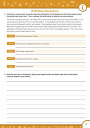 Grade 6 English Books Worksheet Image- Time For Better English