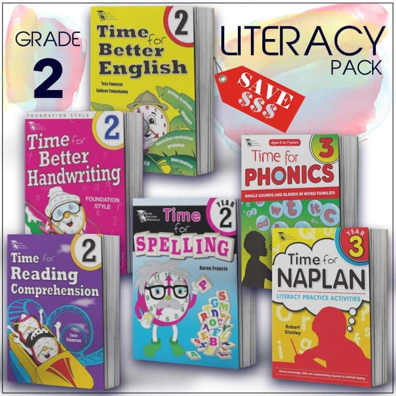 Grade 2 English Packs - Australia's Best Primary School English Packs