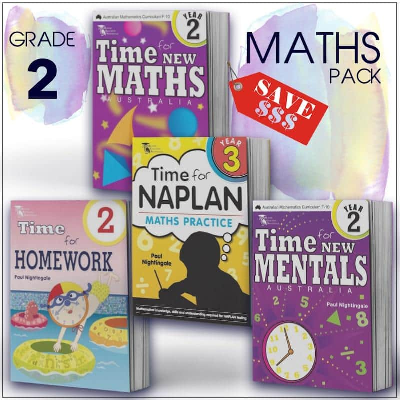 Grade 2 Maths Packs