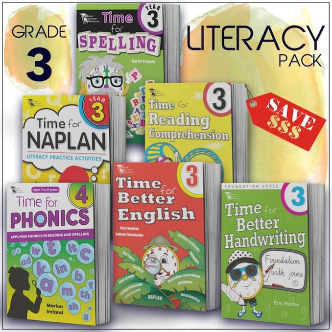 Grade 3 English Packs - Australia's Best Primary School English Packs