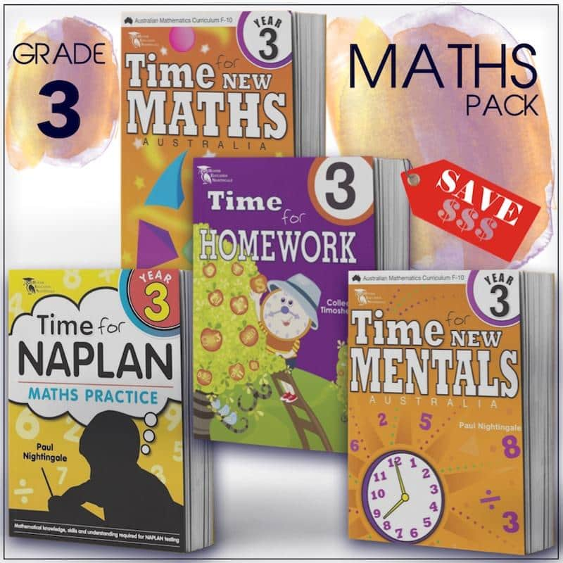 Grade 3 Maths Packs