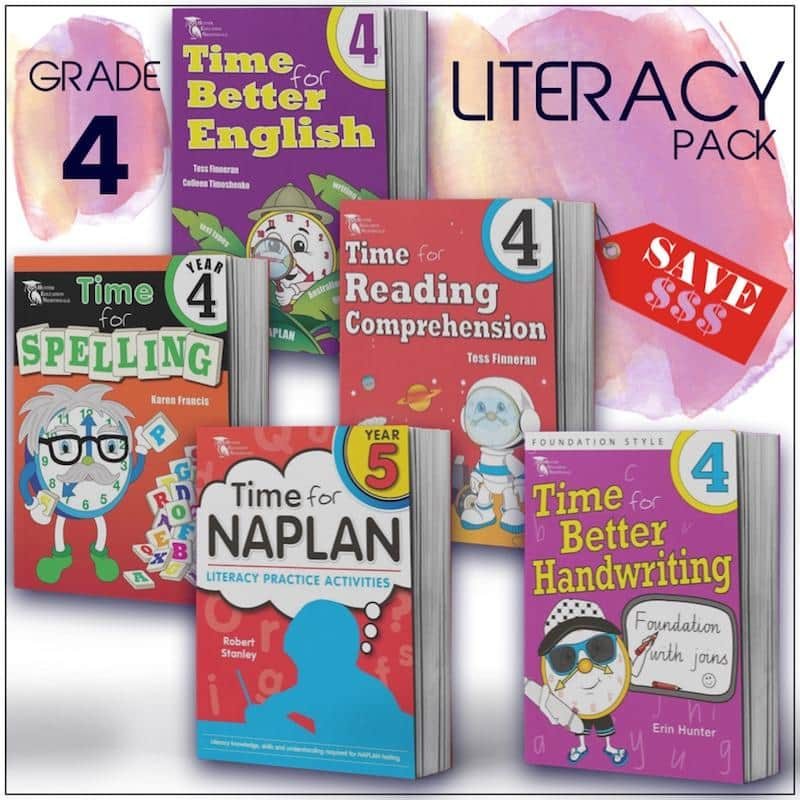 Grade 4 English Packs - Australia's Best Primary School English Packs