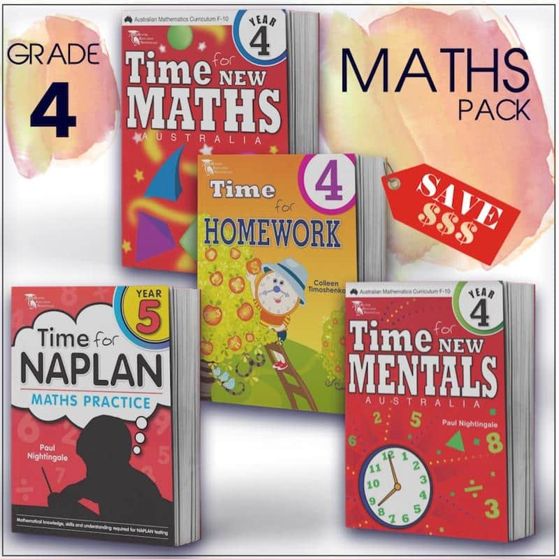 Grade 4 Maths Packs