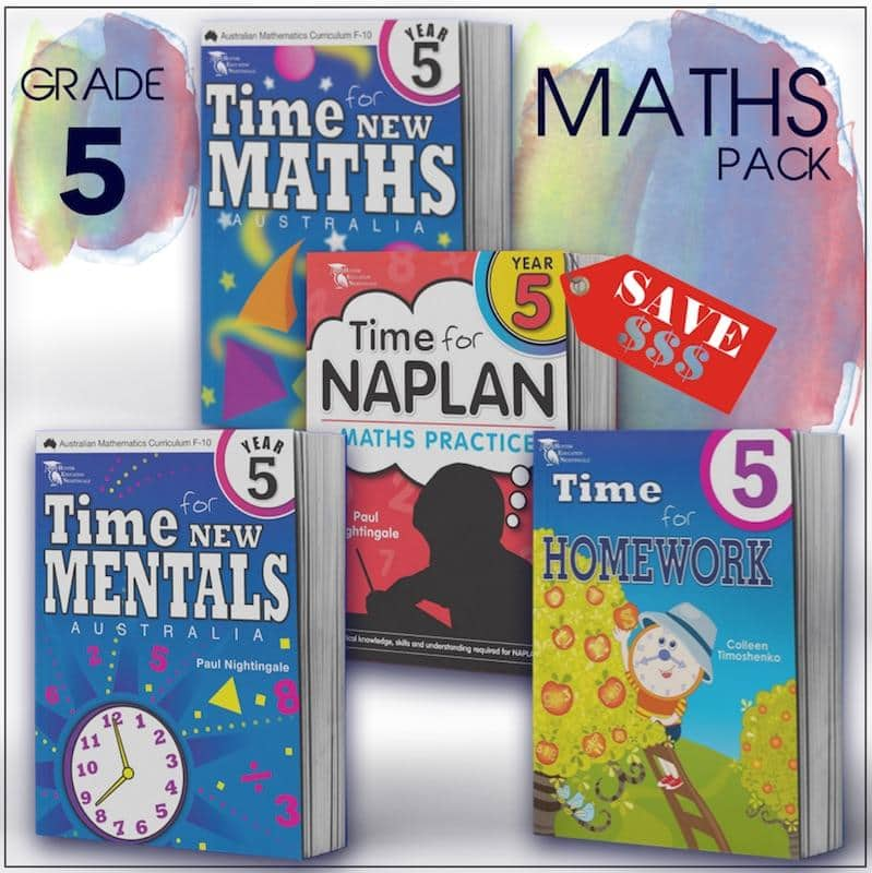 Grade 5 Maths Packs