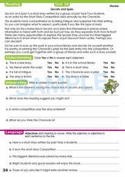Grade 4 Homework Books Worksheet Image- Time For Homework