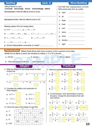 Year 6 Homework Books Worksheet Image- Time For Homework