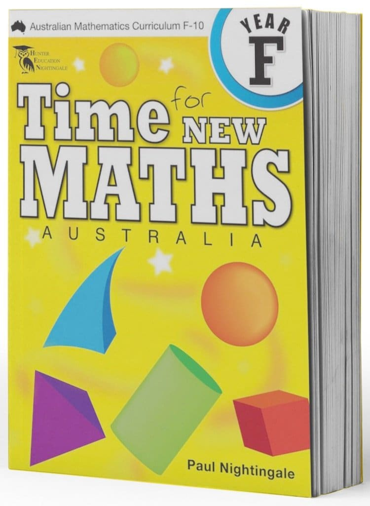 Kindy Maths Packs - Image showing all books in the Kindy Maths Book Pack