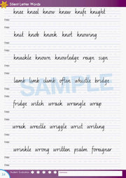 Year 4 Handwriting Books Worksheet Image- Time For Better Handwriting