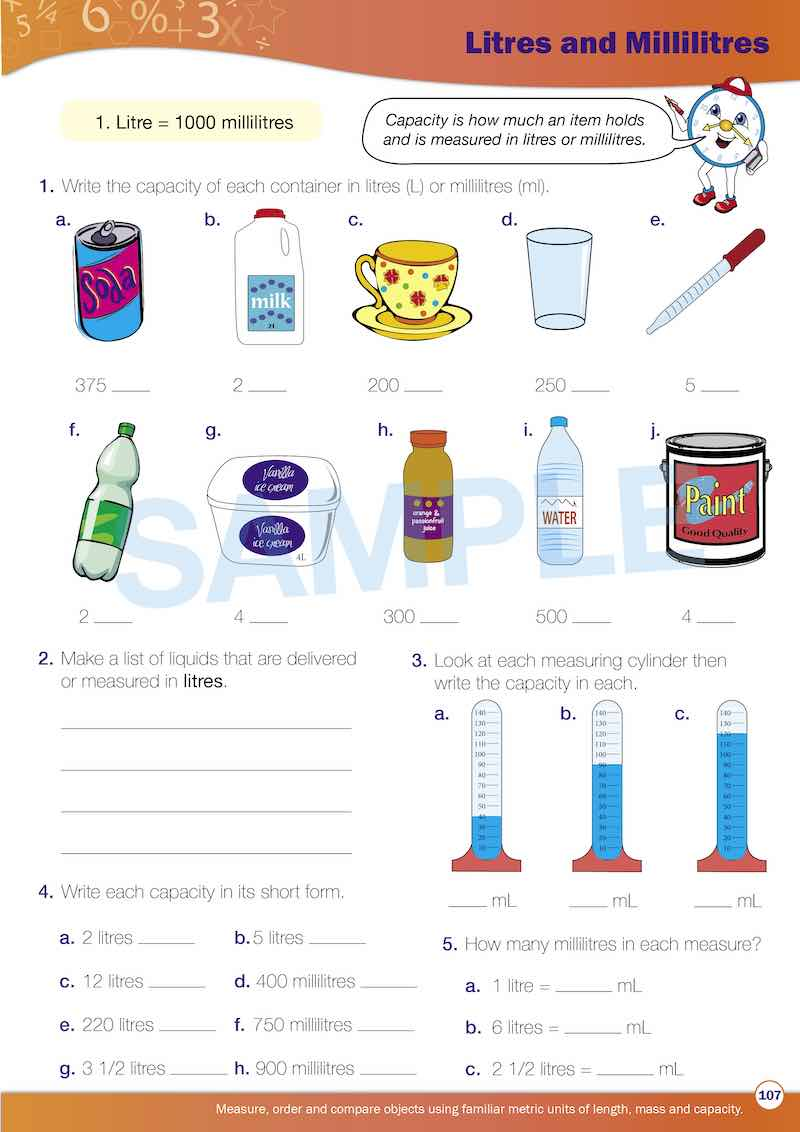 Year 3 Maths Books Worksheet Image- Time For New Maths