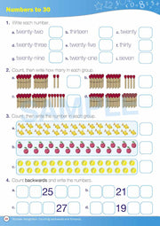 Grade 1 Maths Books Worksheet Image- Time For New Maths