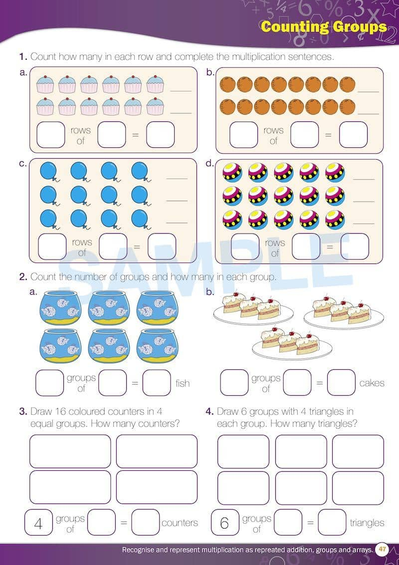Year 2 Maths Books Worksheet Image- Time For New Maths