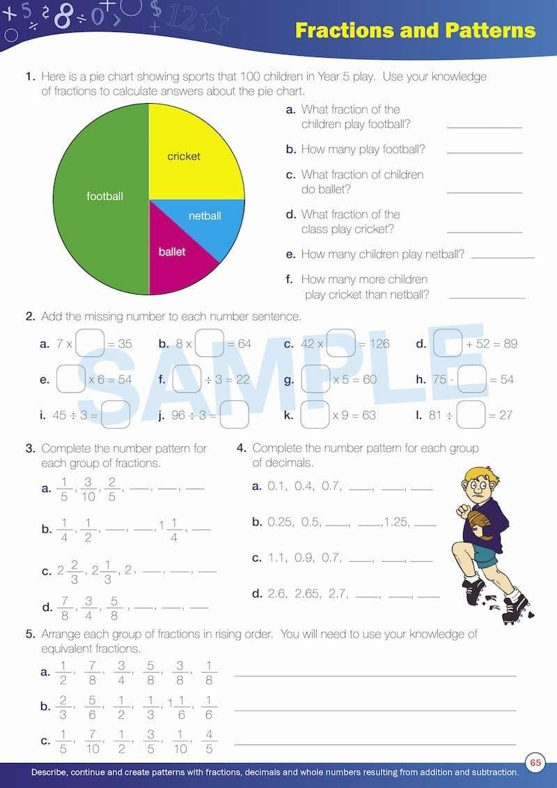 Grade 5 Maths Books Worksheet Image- Time For New Maths