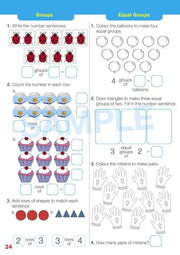 Year 1 Maths Extension Books Worksheet Image- Time For New Mentals