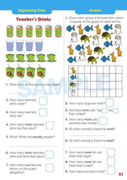 Grade 1 Maths Extension Books Worksheet Image- Time For New Mentals
