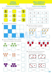 Kindy Maths Extension Books Worksheet Image- Time For New Mentals