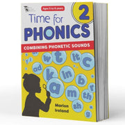 Grade 1 Phonics Books - Time For Phonics Book 2