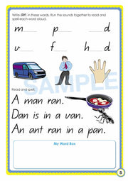 Grade 1 Phonics Books Worksheet Image- Time For Phonics