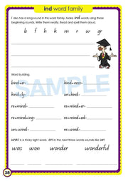 Year 3 Phonics Books Worksheet Image- Time For Phonics