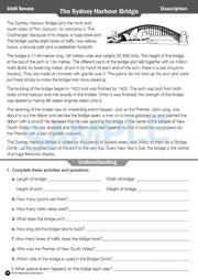 Grade 4 Reading Books Worksheet Image- Time For Reading Comprehension