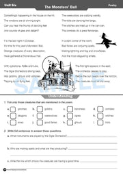 Year 5 Reading Books Worksheet Image- Time For Reading Comprehension