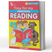 Pre School Reading Books - Time for My Pre School Reading