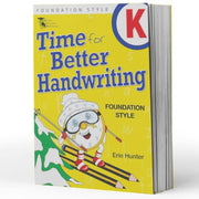 Kindy Handwriting Books - Time For Handwriting