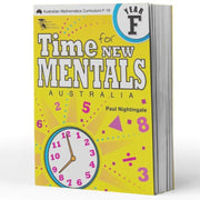 Prep Maths Extension Books - Time For New Mentals