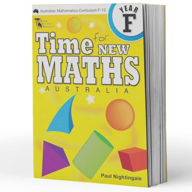 Kindy Maths Books - Time For New Maths