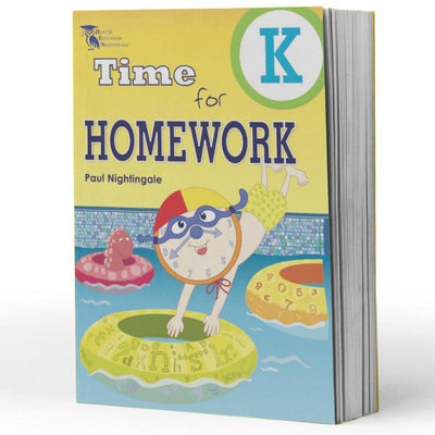 Kindy Homework Books - Time For Homework