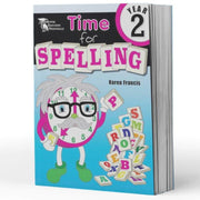 Year 2 Spelling Books - Time For Spelling